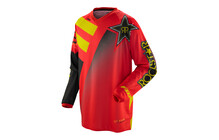 Fox HC Rockstar jersey rouge